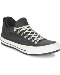 be9667f50ba Converse - Chuck Taylor All Star Boot Ox Men s Shoes (trainers) In Black -