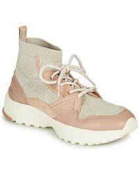 COACH Zapatillas altas C245 RUNNER - Rosa