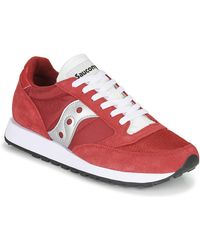Saucony Lage Sneakers Jazz Vintage - Rood