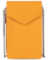 Lancaster Etui smartphone ref 51840 Jaune Sac Bandouliere - Orange