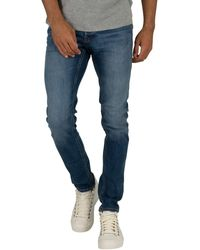 Jack & Jones Jeans Jack Jones JJIGLENN - Bleu