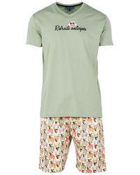 Arthur Pyjama court Pyjamas / Chemises de nuit - Vert