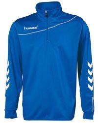Hummel Sweater Sweat Corporate 1/2 Zip - Blauw