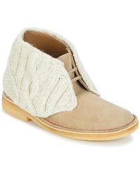 Clarks Laarzen Desert Boot - Bruin