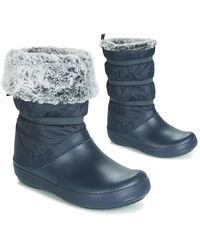 Crocs™ Snowboots Crocband Winter Boot W - Blauw