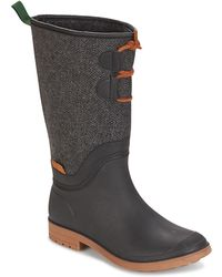 Kamik - Abigail Women's High Boots In Black - Lyst