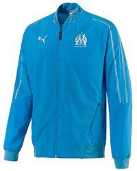 PUMA Trainingsjack Om Woven Jacket 18/19 - Blauw