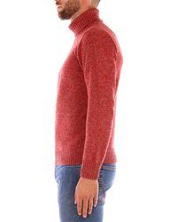 Gran Sasso Jersey CICLISTA suéteres hombre rojo