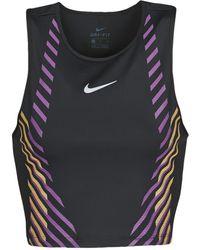 Nike Top W Nk Top Runway Gx - Nero