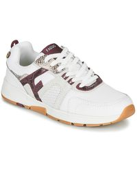 Faguo Lage Sneakers Willow - Wit