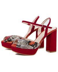 Lodi Zapatos de tacón TICA-XSR - Rojo