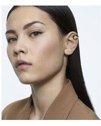 Swarovski Boucle d'oreille à clipper collection Mill enia Boucles oreilles - Marron