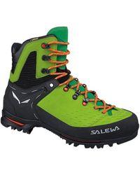 Salewa - Un Vultur Gtx Men's Shoes (high-top Trainers) In Green - Lyst