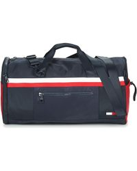 Tommy Hilfiger Sport Mix Duffle Corp Women's Travel Bag In Blue