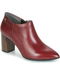 Pikolinos - Salamanca W3q Women's Low Boots In Red - Lyst