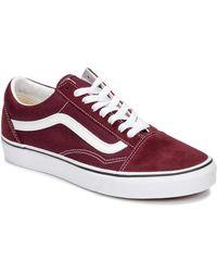 Vans - Lage Sneakers Old Skool - Lyst