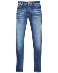 Jack & Jones JJIMIKE Jeans - Bleu