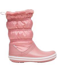 Crocs™ Descansos CrocsTM Crocband Boot Women's - Rosa