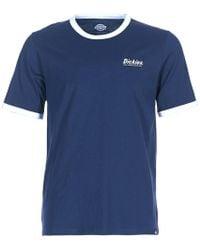 Dickies - Barksdale Men's T Shirt In Blue - Lyst