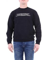 MSGM 2940MM224207599 Sweat-shirt - Noir