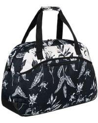 Roxy - Mochila Erjbl03101 Women's Travel Bag In Black - Lyst