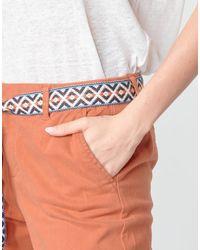 Vero Moda Pantalón chino VMSVEA - Naranja