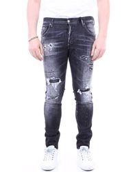 DSquared² Skinny Jeans S71lb0841s30503 - Zwart