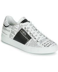 John Galliano Lage Sneakers 6744 - Wit
