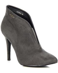 Big Star - Szare Ocieplane V274014 Women's Low Ankle Boots In Grey - Lyst