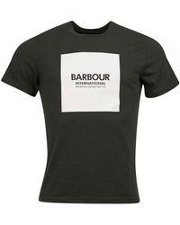 Barbour - T-shirt BATEE0444 - Lyst