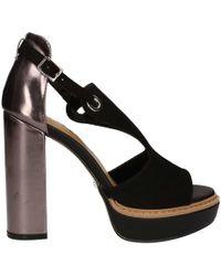 GAUDI - V73-65273 High Heeled Sandals Women Black Women's Sandals In Black - Lyst