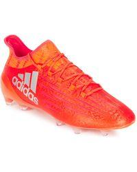adidas Zapatillas de fútbol X 16.1 FG - Naranja