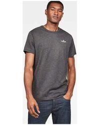G-Star RAW T-shirt D14361 2757 RODIS - Noir