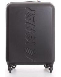 K-Way Reiskoffer K111jmw - Zwart