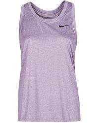 Nike W NK DF LEG RACEBACK TANK Debardeur - Violet