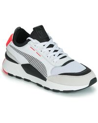 PUMA Lage Sneakers Rs0 Reinvention.white-red - Wit