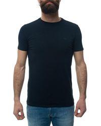 Armani T-shirt 8N1T80-1J0AZ0939 - Bleu