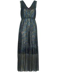 Betty London Vestido largo MADAMME - Azul