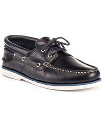 Lumberjack Chaussures bateau SM39104 002 B03 - Noir