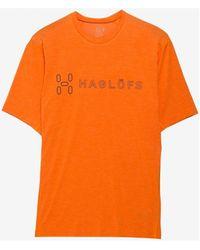 Haglöfs RIDGE II TEE MEN T-shirt - Orange