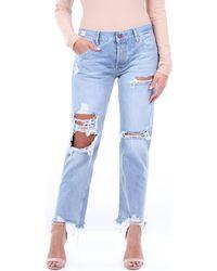 Replay WA40550C680R Jeans boyfriend - Bleu
