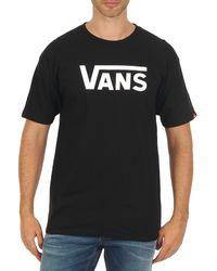 Vans - T-shirt Korte Mouw Classic - Lyst