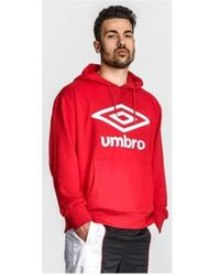 Umbro Sweat-shirt à capuche - Rouge
