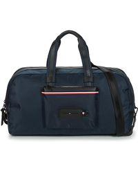 Tommy Hilfiger Modern Nylon Weekender Travel Bag - Blue