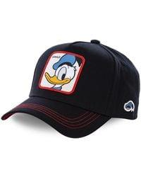 Capslab Casquette Disney Donald Casquette - Bleu