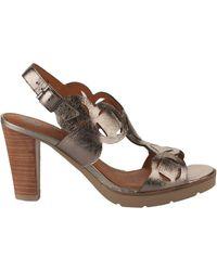 Mam'Zelle Sandales Nu pieds femme - - Gris plomb - 36