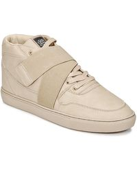 Sixth June Hoge Sneakers Nation Strap - Naturel
