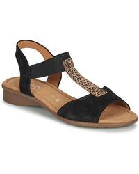 Gabor Sandalen - Zwart