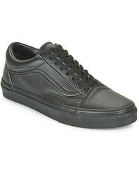 Vans Lage Sneakers Old Skool - Zwart