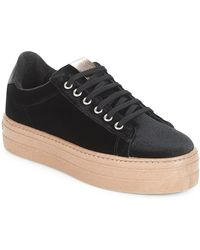 Victoria - Lage Sneakers Deportivo Terciopelo/caram - Lyst